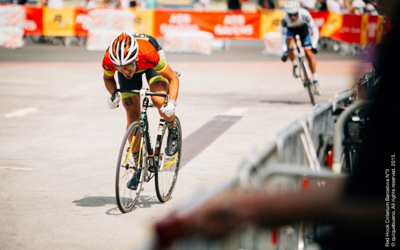 Pushing hard at Redhookcrit in Barcelona