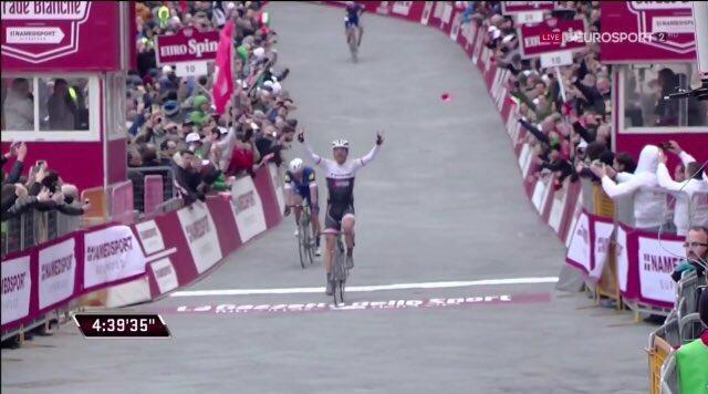 Fabian Cancellara vence Strade Bianche 2016