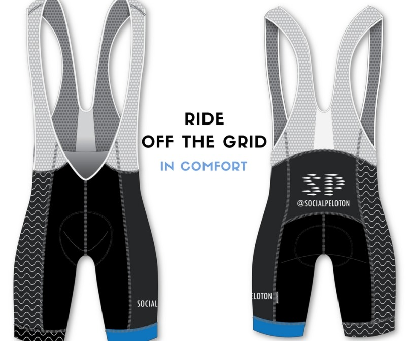 SocialPeloton Men Elite Cycling  Bib Shorts