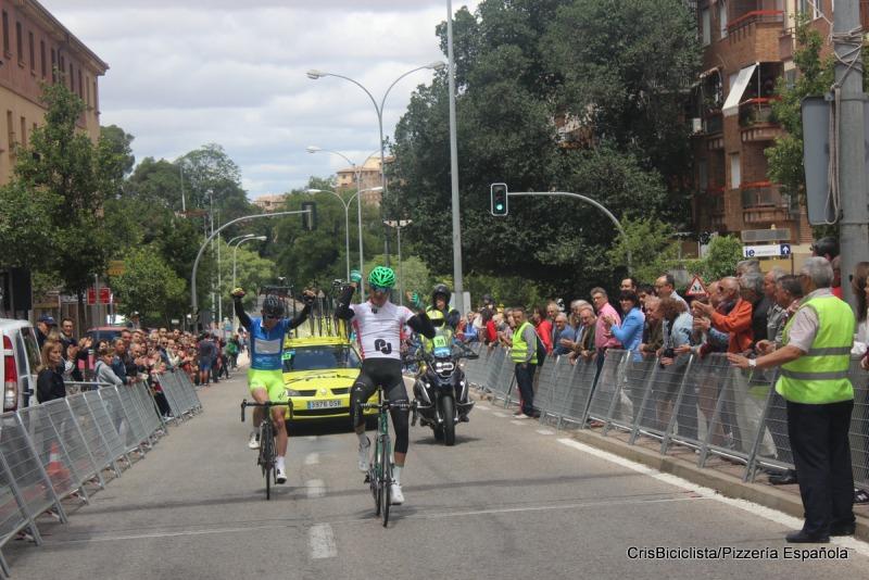 Los dos ganadores en Segovia