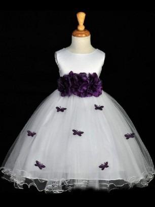 Flower Girl Dresses NZ, Cheap Girls Bridesmaid Dresses Online - Bonnyin.co.nz