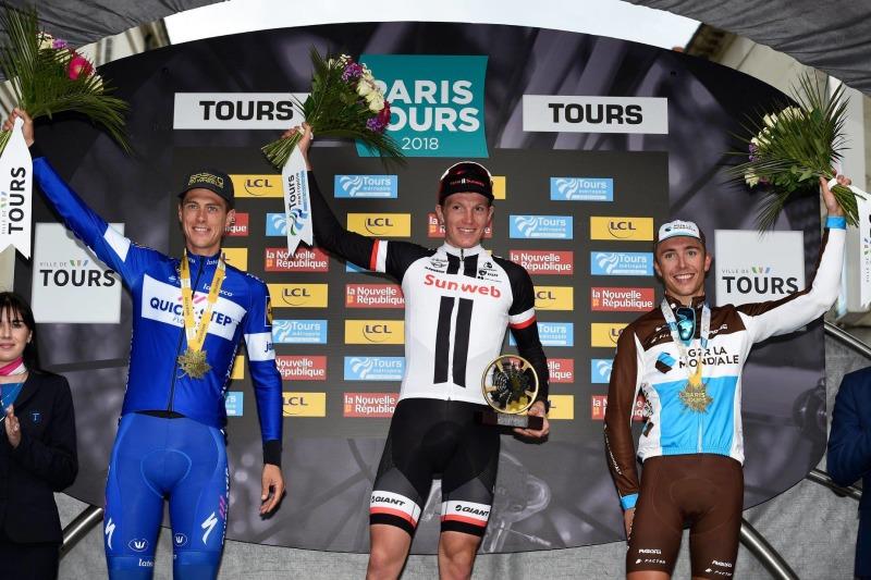 Team Sunweb's Søren Kragh Andersen displayed his dominance at Paris-Tours